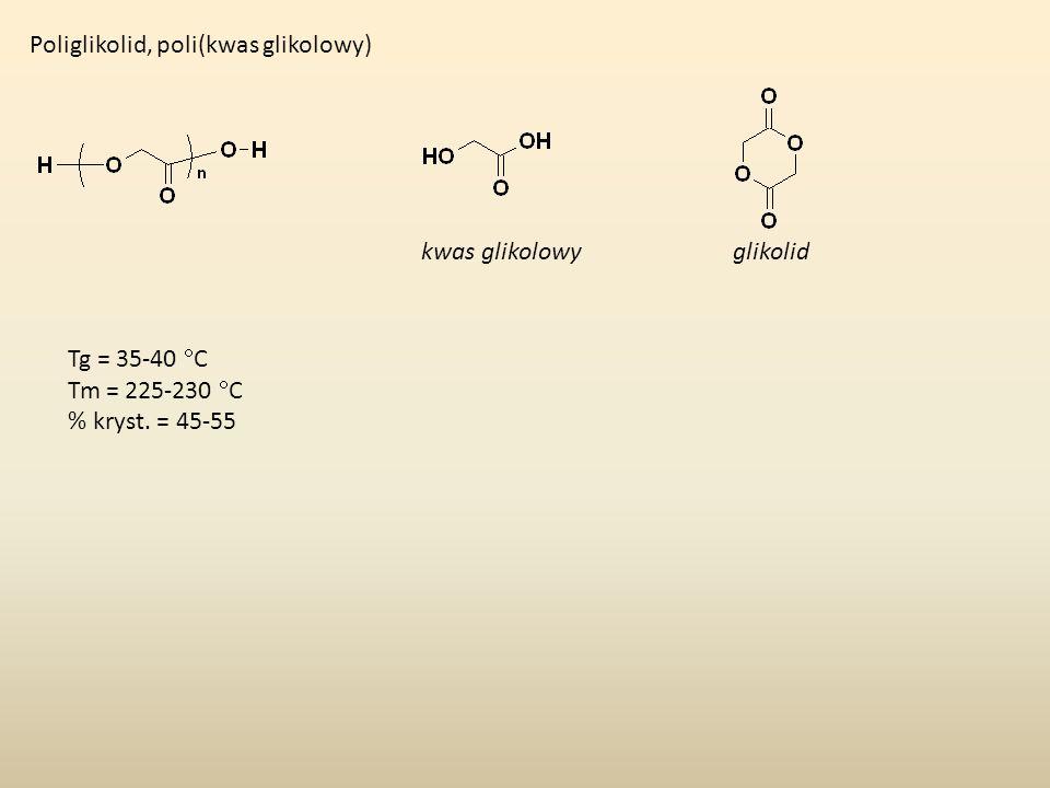 Poliglikolid, poli(kwas glikolowy)