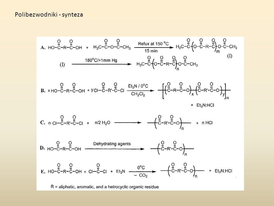 Polibezwodniki - synteza