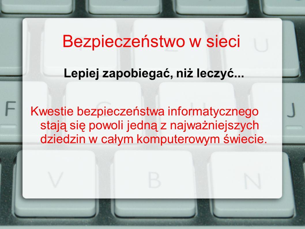 Bezpieczeństwo w sieci