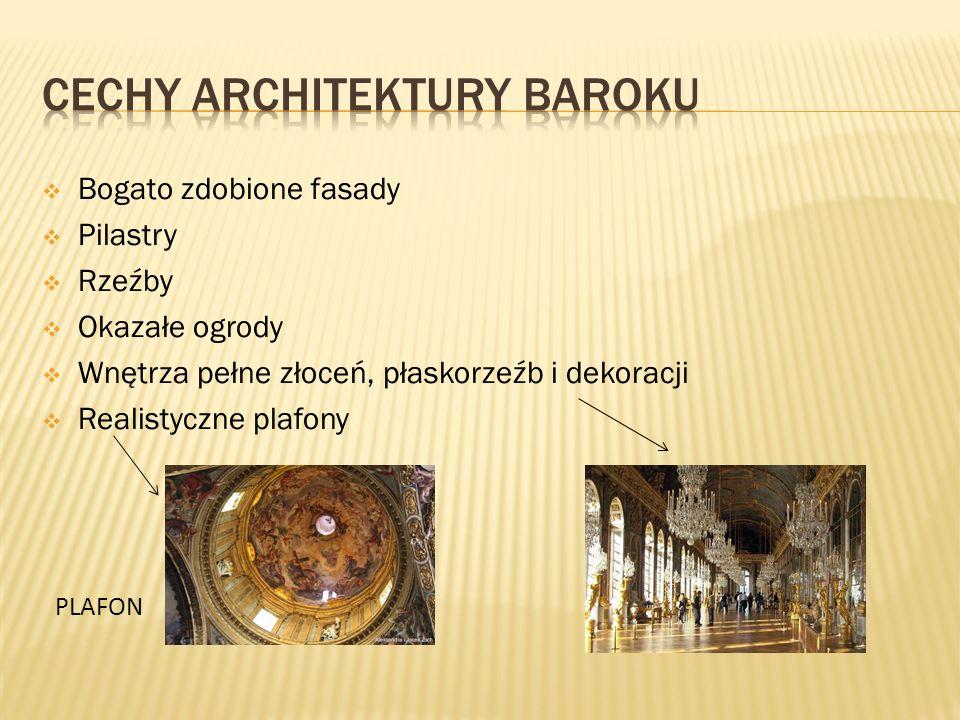 Cechy architektury Baroku
