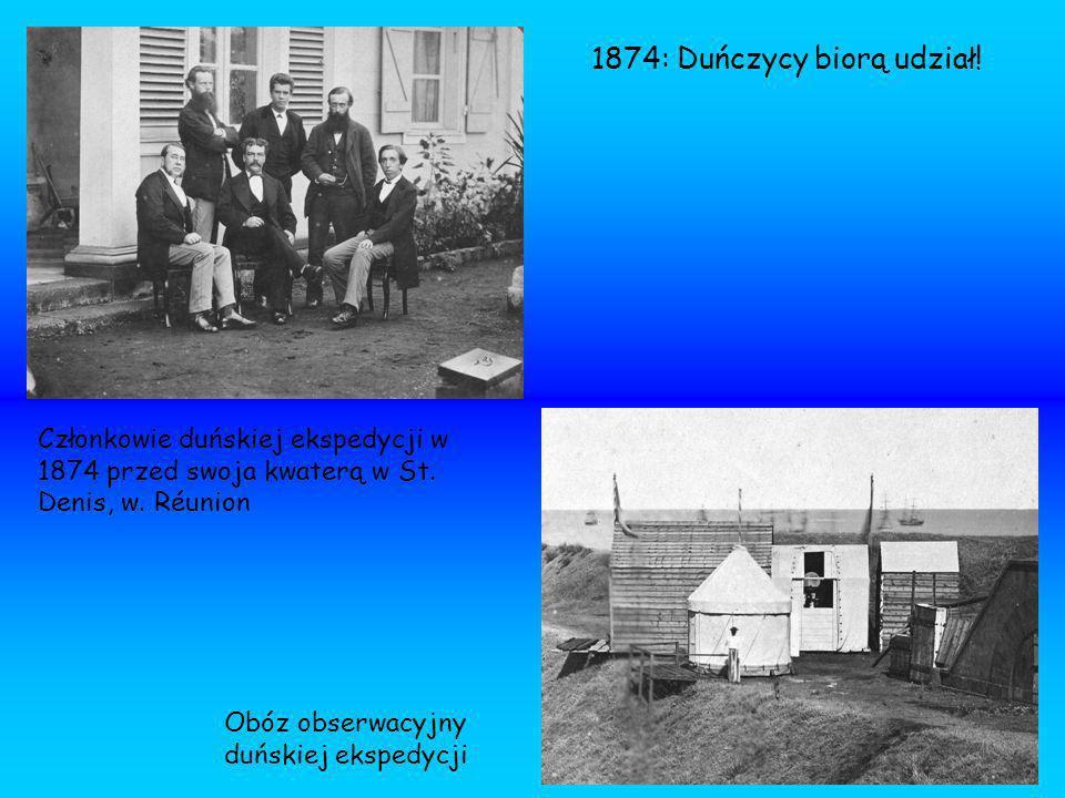1874: Duńczycy biorą udział!