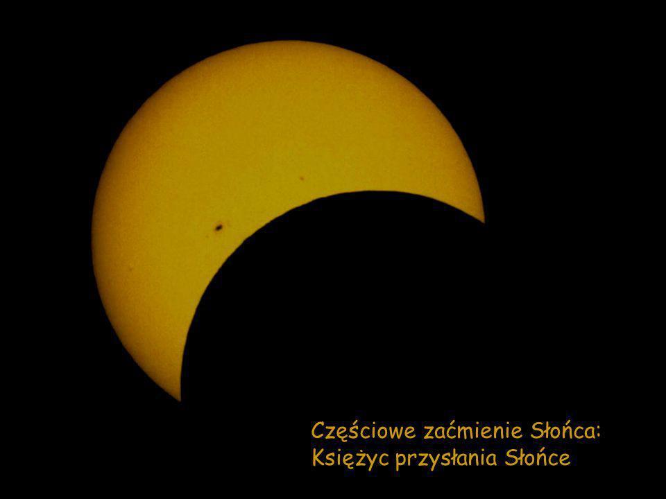 Częściowe zaćmienie Słońca: