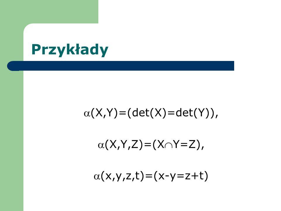 (X,Y)=(det(X)=det(Y)),
