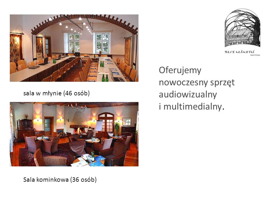 Oferujemy nowoczesny sprzęt audiowizualny i multimedialny.