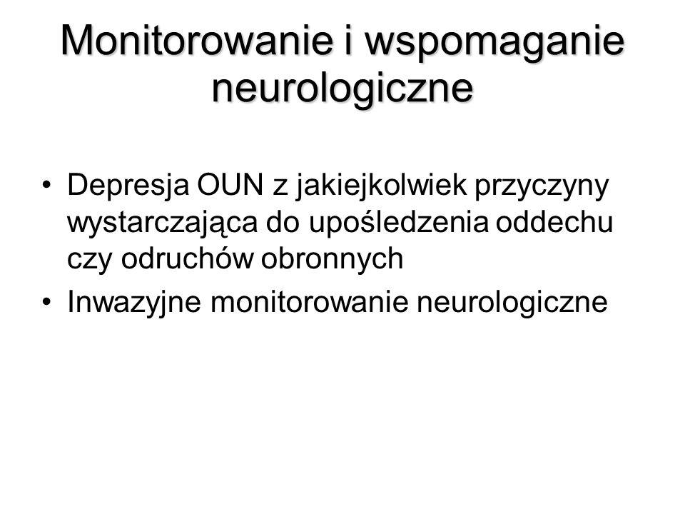 Monitorowanie i wspomaganie neurologiczne
