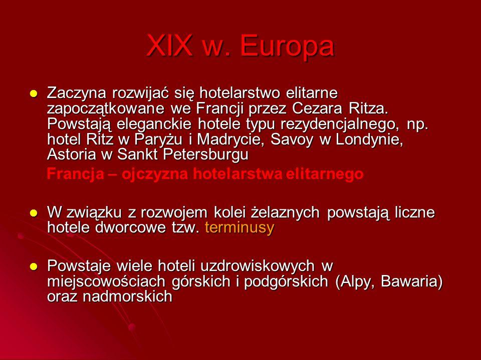 XIX w. Europa