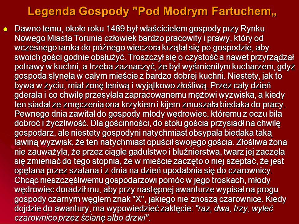 """Legenda Gospody Pod Modrym Fartuchem"""""""