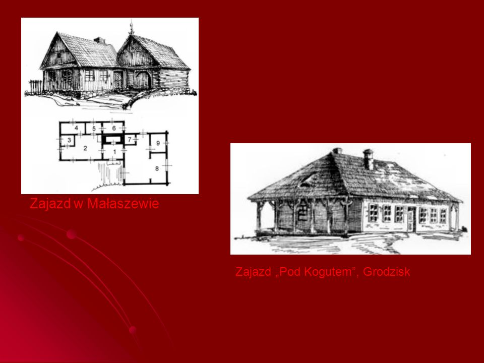 """Zajazd w Małaszewie Zajazd """"Pod Kogutem , Grodzisk"""