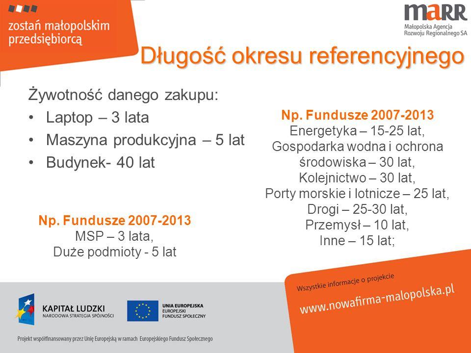 Długość okresu referencyjnego