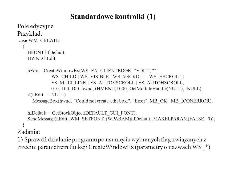 Standardowe kontrolki (1)