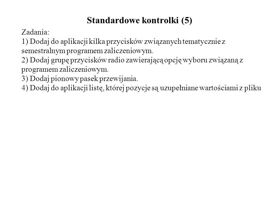 Standardowe kontrolki (5)