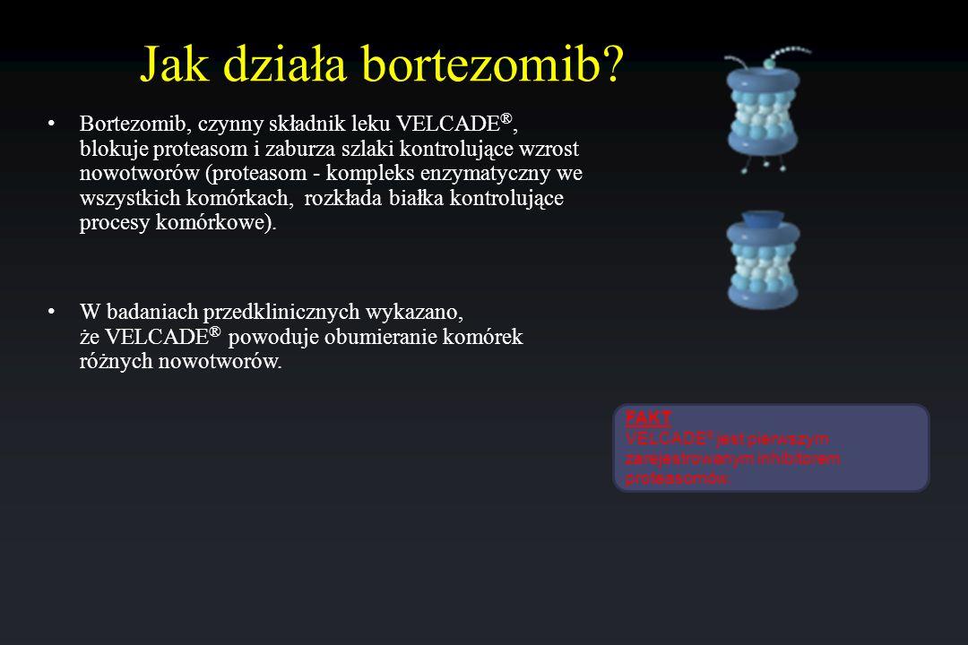 Jak działa bortezomib