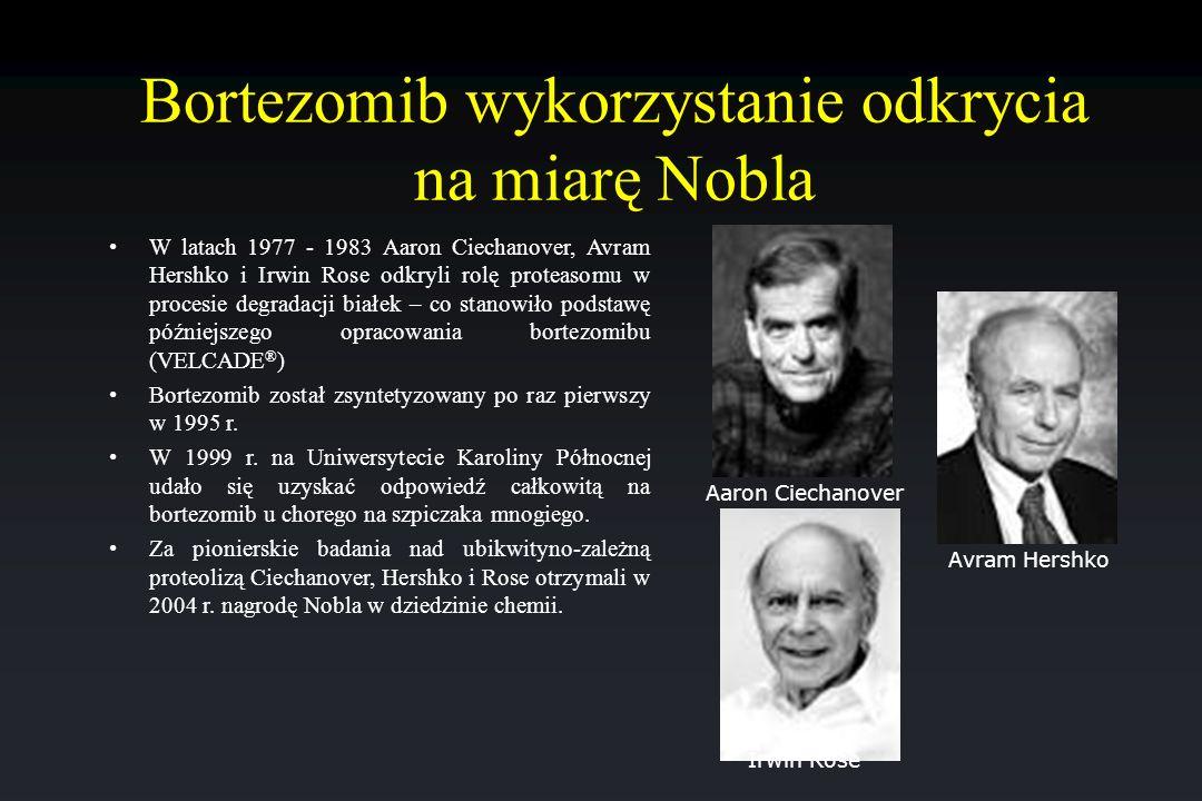Bortezomib wykorzystanie odkrycia na miarę Nobla