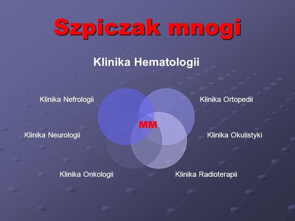 Szpiczak mnogi MM Klinika Neurologii Klinika Okulistyki