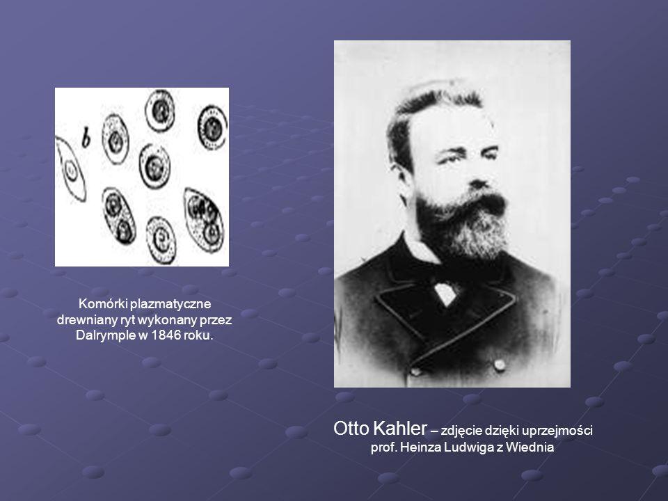 Komórki plazmatyczne drewniany ryt wykonany przez Dalrymple w 1846 roku.