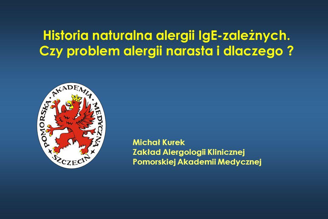 Historia naturalna alergii IgE-zależnych