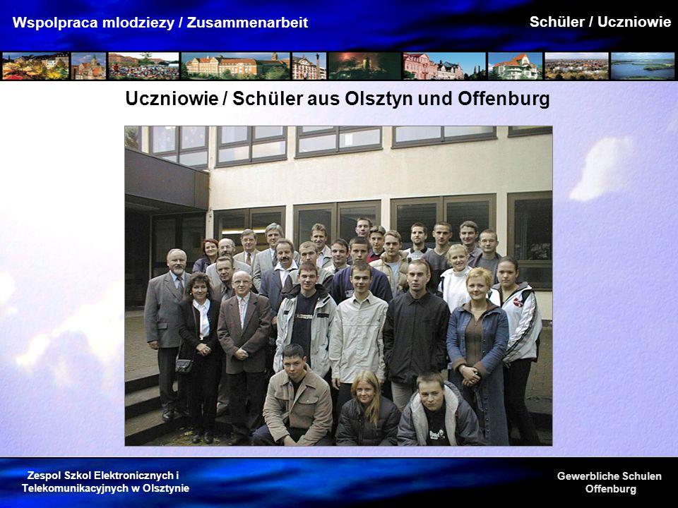 Uczniowie / Schüler aus Olsztyn und Offenburg