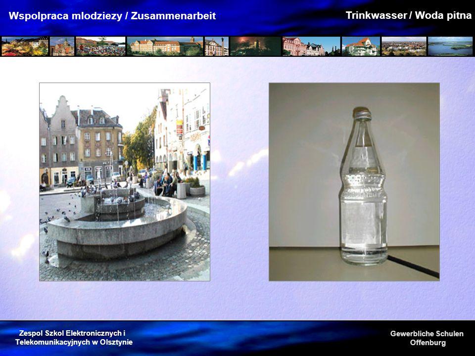 Trinkwasser / Woda pitna