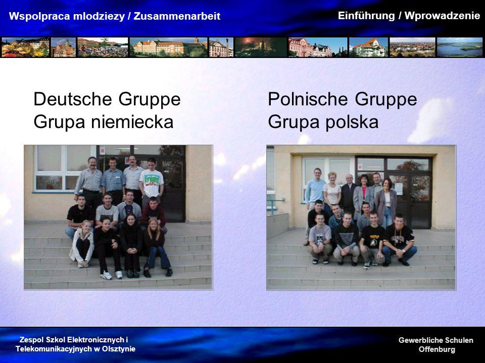 Polnische Gruppe Grupa polska
