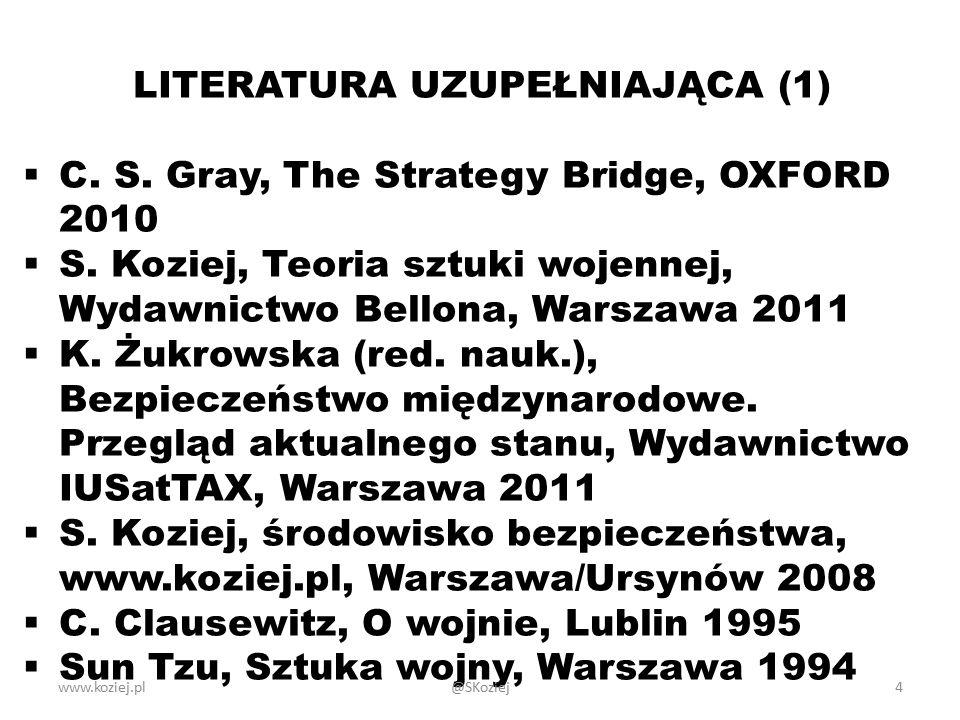 LITERATURA UZUPEŁNIAJĄCA (1)