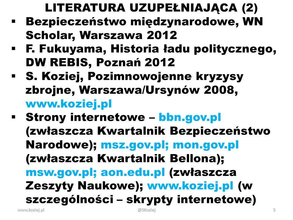 LITERATURA UZUPEŁNIAJĄCA (2)