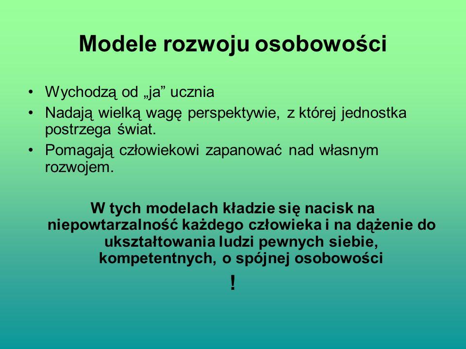 Modele rozwoju osobowości
