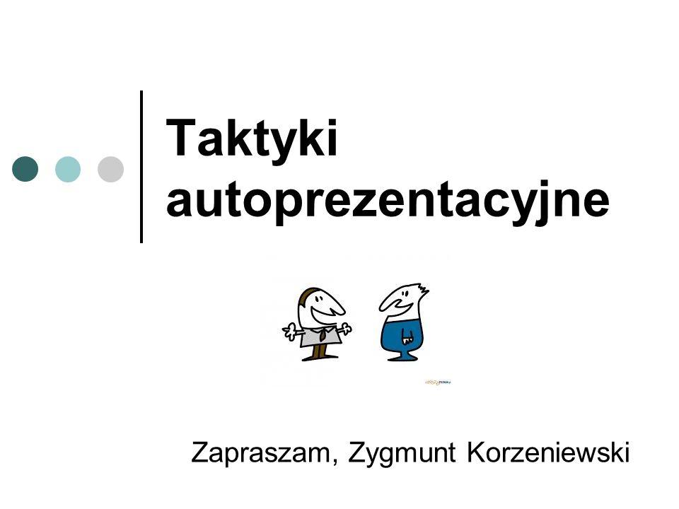 Taktyki autoprezentacyjne