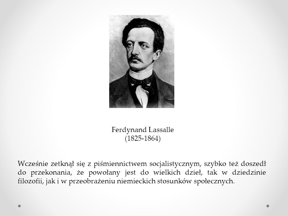 Ferdynand Lassalle (1825-1864)