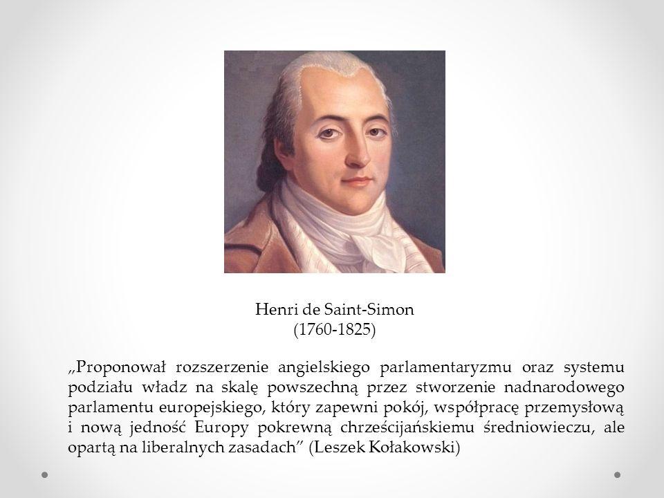 Henri de Saint-Simon (1760-1825)