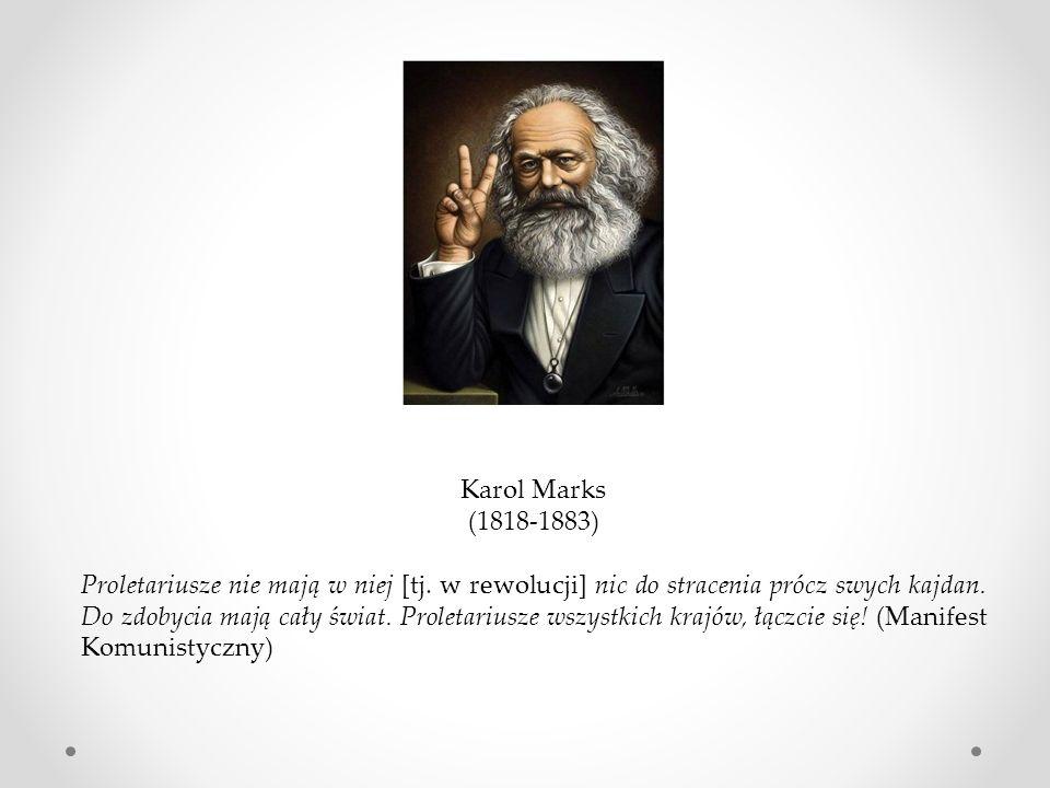 Karol Marks (1818-1883)