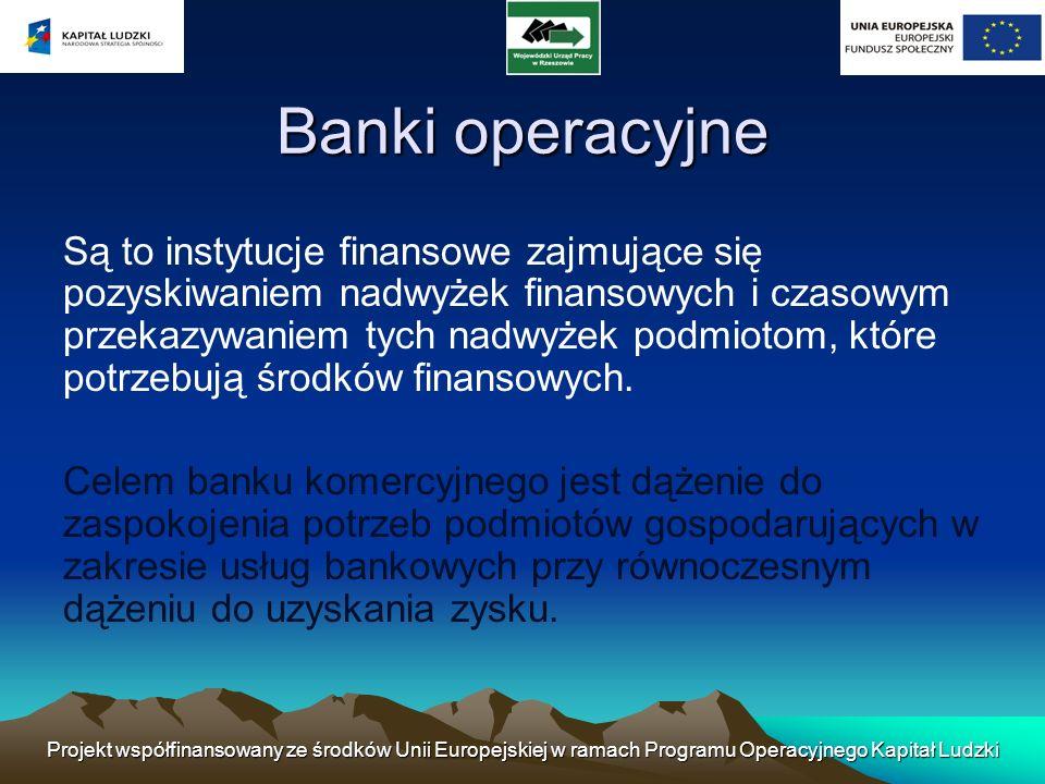 Banki operacyjne