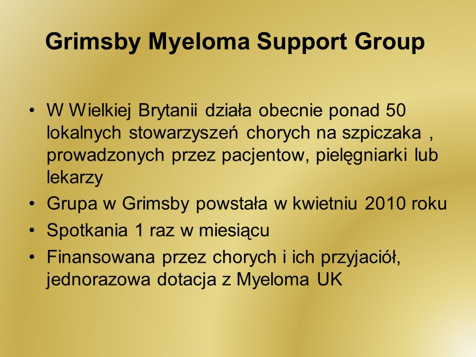 Grimsby Myeloma Support Group