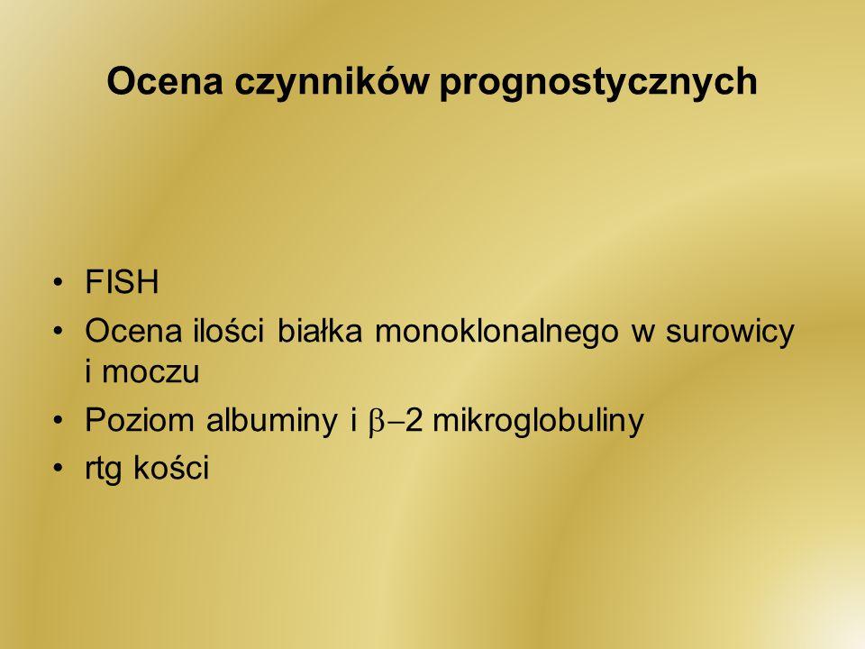 Ocena czynników prognostycznych