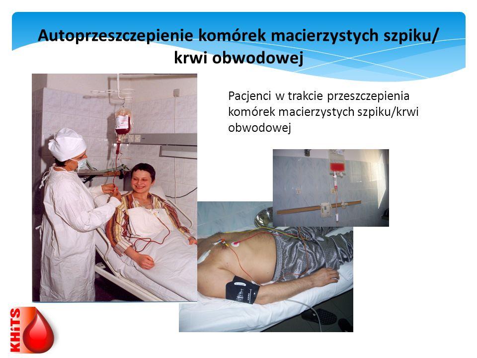 Autoprzeszczepienie komórek macierzystych szpiku/ krwi obwodowej