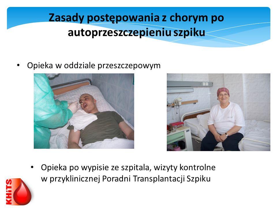 Zasady postępowania z chorym po autoprzeszczepieniu szpiku