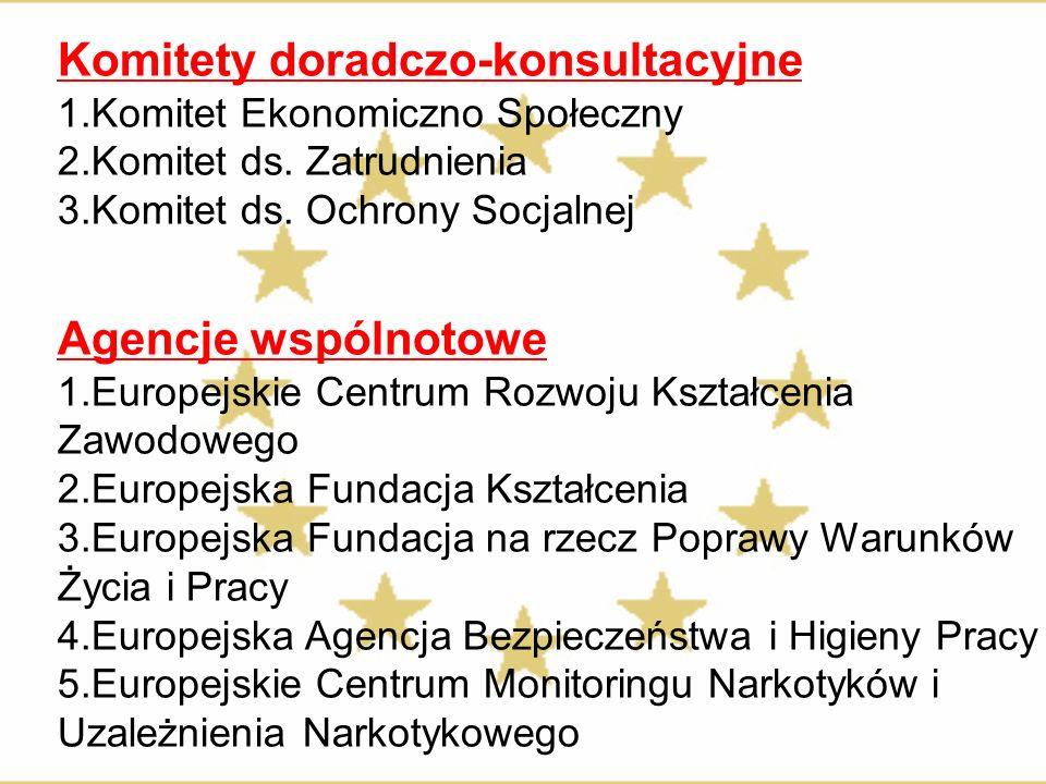 Komitety doradczo-konsultacyjne