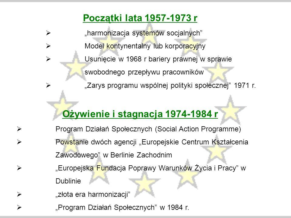 Ożywienie i stagnacja 1974-1984 r