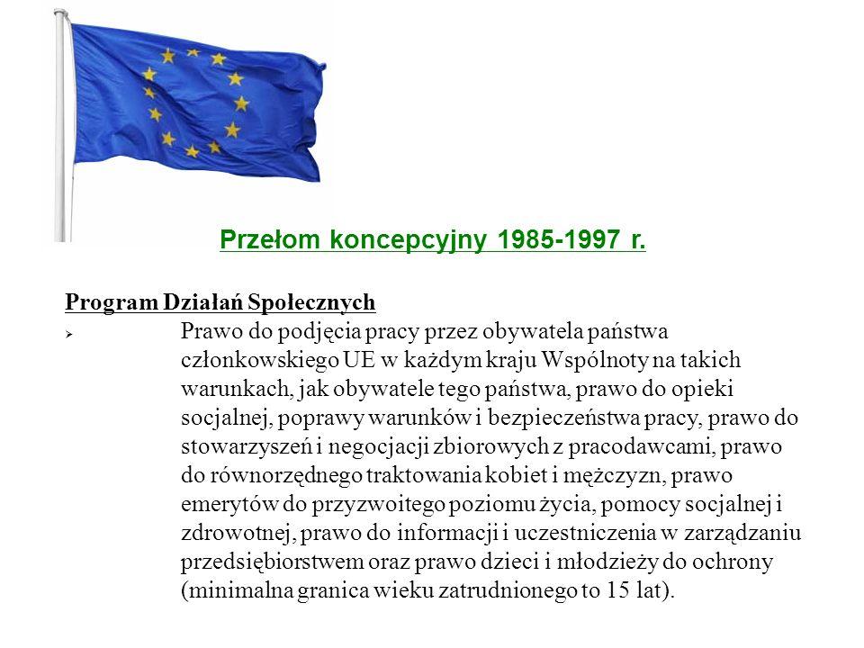 Przełom koncepcyjny 1985-1997 r.