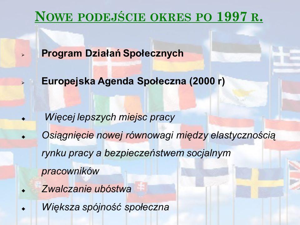 Nowe podejście okres po 1997 r.