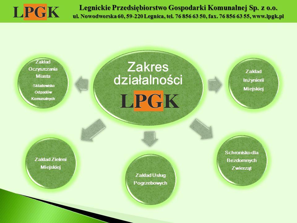 Legnickie Przedsiębiorstwo Gospodarki Komunalnej Sp. z o. o. ul