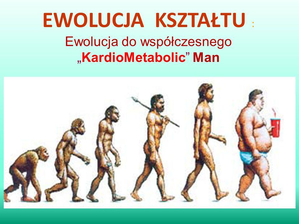 """EWOLUCJA KSZTAŁTU : Ewolucja do współczesnego """"KardioMetabolic Man"""