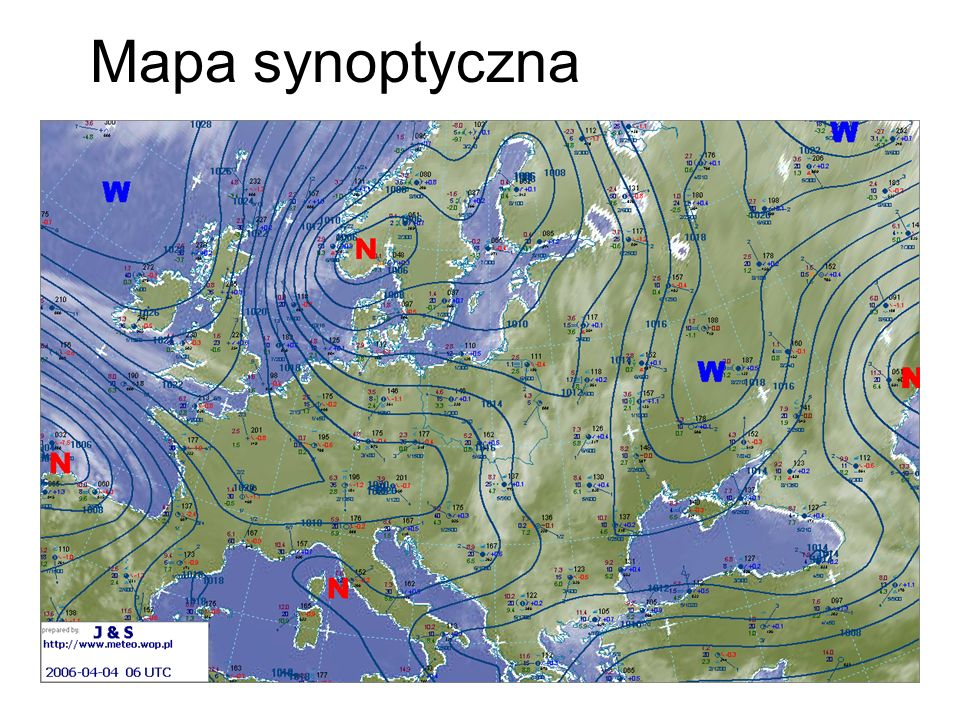 Mapa synoptyczna