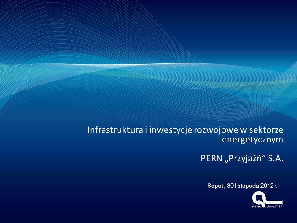 Infrastruktura i inwestycje rozwojowe w sektorze energetycznym