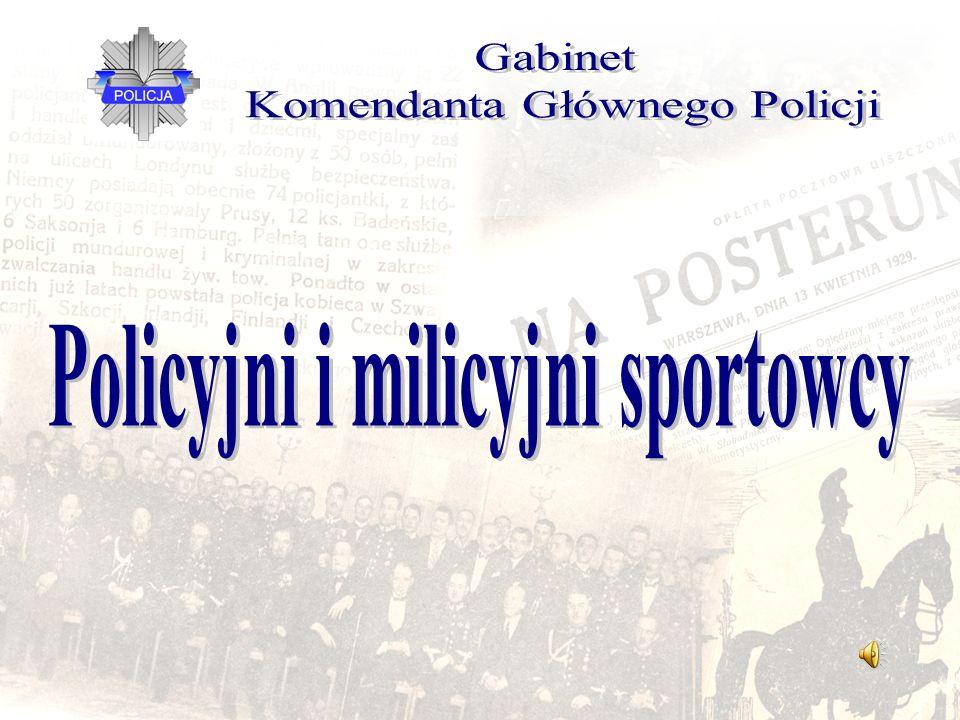Policyjni i milicyjni sportowcy