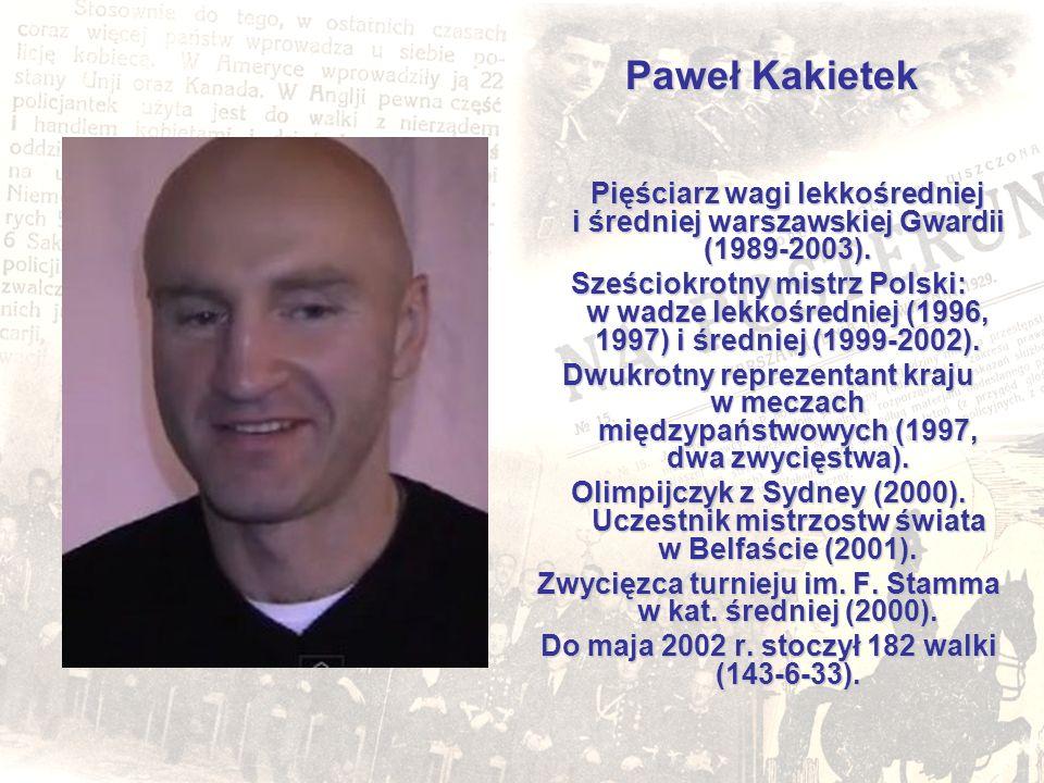 Zwycięzca turnieju im. F. Stamma w kat. średniej (2000).