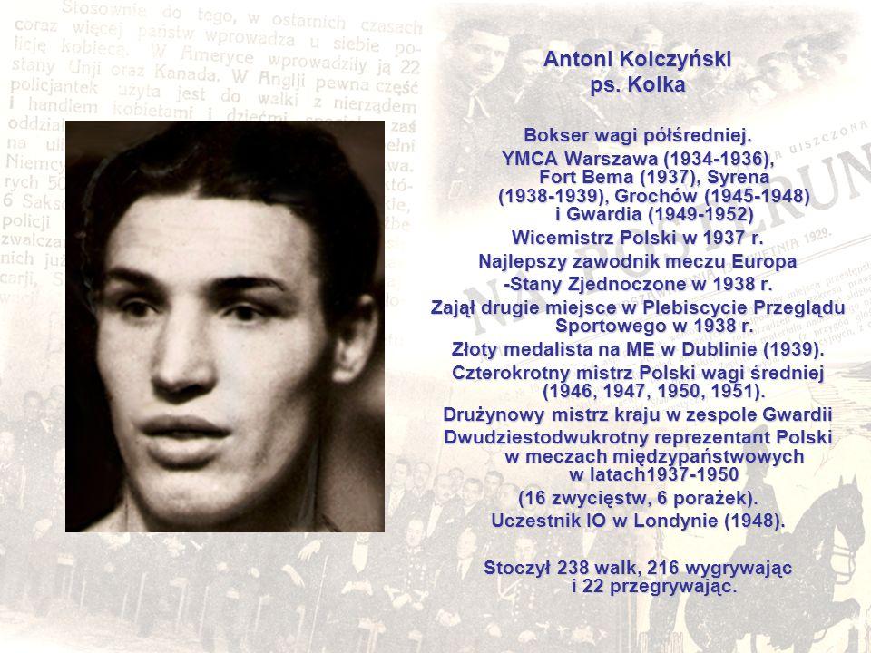 Antoni Kolczyński ps. Kolka