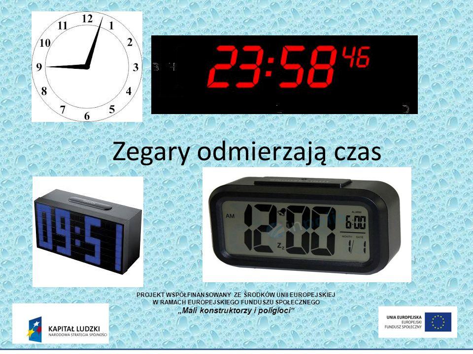 Zegary odmierzają czas