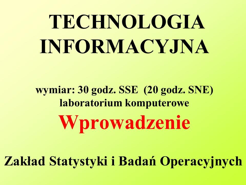 Zakład Statystyki i Badań Operacyjnych