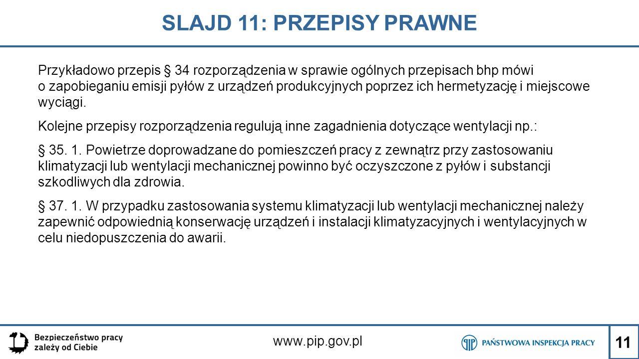 SLAJD 11: PRZEPISY PRAWNE