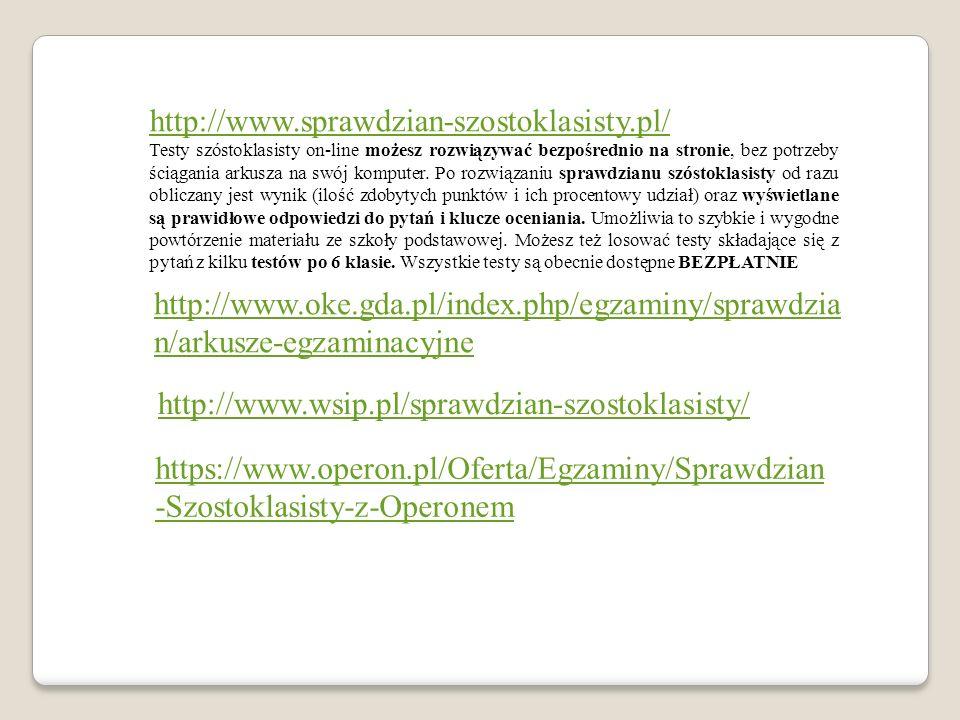 http://www.sprawdzian-szostoklasisty.pl/